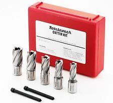 Rotabroach RAPK2000 Cutter Kit - Genuine Rotabroach Cutter Set 14mm -22mm