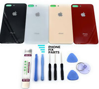 For iPhone 8 Plus Back Cover Battery Glass Replacement Housing Door+Repair Tools