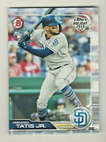 2019 Topps Bowman Holiday #TH-FTJ FRANCISCO TATIS JR RC Rookie QTY AVAILABLE