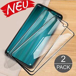 2 x Panzerfolie für Xiaomi Redmi Note 8 Note 8 Pro Full Cover echt Schutz Glas