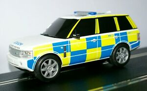 SCALEXTRIC 1:32 Car - Police Range Rover FLASHING LIGHTS & SIREN DRIFT (C2808)