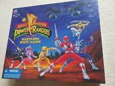 1994 Milton Bradley Saban's Mighty Morphin Power Rangers Battling Dice Game Rare