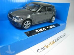 BMW 1 SERIES E87 1/43 NEW RAY (GREY)