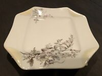 Antique 19th Century Haviland & Co Limoges Napkin Fold Plate 1875-1882