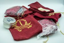 Transaero Russian Airlines Imperial velvet bags and accessories, cream, eye mask