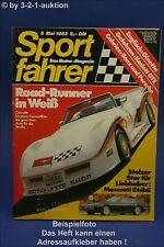 Sportfahrer 5/83 Corvette Daytona Ginetta G4 Ghibli
