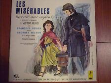 double 25 cm  33t Victor Hugo  Les Misérables François Périer Georges Wilson