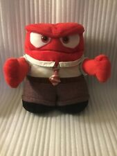 "Animated TALKING Disney/Pixar Inside Out 9"" Anger Doll Plush"