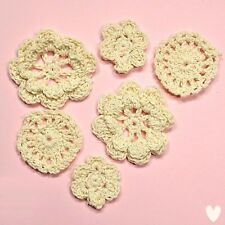Papermania Vintage Notes Crochet Cotton Flowers