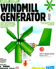 Green Science Windmill Generator Kids Educational Science Kit Factory Sealed New