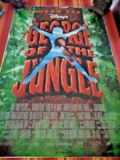 George of the Jungle Original DOUBLE SIDED Movie Poster w/Brendan Fraser
