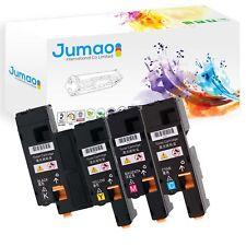 4 Toners d'impression type Jumao Noir, Cyan, Magenta, Jaune pour Dell C1660