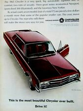 1962 Chrysler 300 G 2 Door Hardtop-Red Original Print Ad-8 5 x 11/""