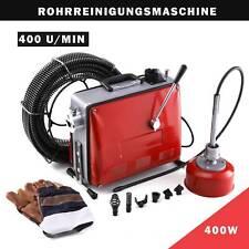 Rohrreinigungsgerät Rohrreiniger Rohrreinigungsmaschine Abflussreiniger 6 Köpfe