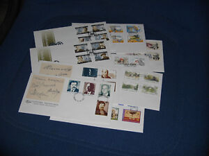 GREECE 1997 official FDC complete year (value 80 Euros)