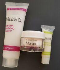 3 pc Murad Face/Eye Products Travel Minis Age Reform, Resurgence, Hydro Dynamic