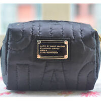 Hot Sale Marc by Marc Jacobs Nylon Casual Clutch Handbag Black Cosmetic Bag