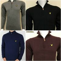 LYLE AND SCOTT QUARTER ZIP JUMPER FOR MEN WINTER SALE!!!