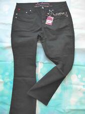 Joe Browns Jeans Hose Damen Gr. 46 bis 58 schwarz Ton (642)