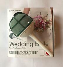 7CM Oasis Dry Foam Wedding Bouquet Holder Brides Bridesmaids Floral Arrangements