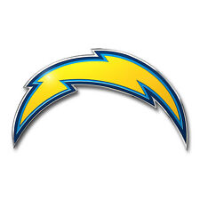 New ProMark NFL San Diego Chargers Aluminum Color Car Truck Emblem Sticker Decal
