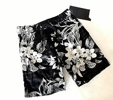 Hurley Boys 4-7 surf skate Tropical Floral Pull On walkshorts Shorts 7 NEW