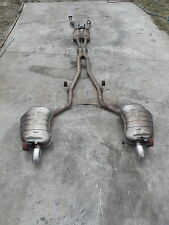 Audi A8 D3 4.2L TDI Exhaust system