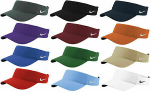 Nike Dry Dri-FIT Swoosh Visor Men's Adjustable Strapback Cap Authentic Hat Golf