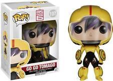 "BIG HERO 6 GO GO Tomago 3.75 ""Vinyl figura POP Pompon HEAD Funko"