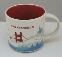 Starbucks San Francisco You Are Here Collection Coffee Mug Tea Cup 14oz 2014