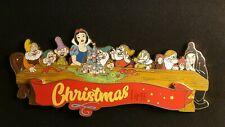 PINS DISNEY DLP PTE CHRISTMAS time JUMBO snow white blanche neige dwarf 425EX