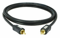 1,5m Digital Koaxial Audiokabel, Subwoofer-Kabel, mehrfach geschirmt MS1.5