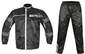 Akito 2 Pieces Motorcycle Waterproof Fishing Textile Over Jacket Trouser Set