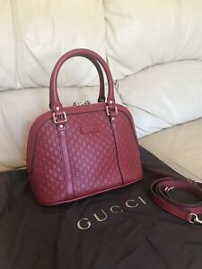 Gucci Bag, GG Micro Guccisima Crossbody Small Bag, 100% Authentic, STUNNING