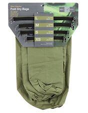 Exped Impermeabile Pieghevole OLIVE DRY BAGS [ 4 Pack ] leggero pesca campeggio sacchi