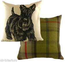 "17"" Scottish Terrier Dog Cushion Evans Lichfield DPA467 43cm Waggydogz"