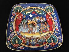 "Franklin Mint Heirloom Recommendation Christmas ""Noel Noel"" Plate"