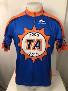 VOLER California USA - TEAM ALAMEDA Cycle City Mens 2XL Orange/Blue Bike Jersey