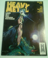 Heavy Metal Magazine JUN 1984 Vol. 8 #3 Fantasy Sci-Fi Steampunk Vintage Art