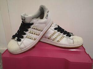 Adidas Superstar uk 8 retro grafitti