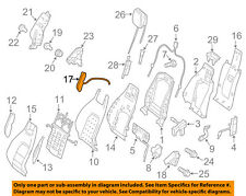 MERCEDES OEM 10-13 E350 Front Seat-Adapter Right 0009103075