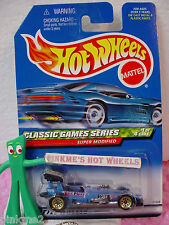 1999 Hot Wheels Super Modified #981 ☆ blue ☆ Ker Plunk! ☆ Classic Games