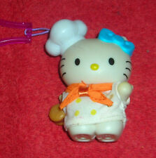 "HELLO KITTY 3"" CLIP ON KEY CHAIN TOY FIGURE"