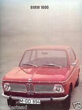 Auto Brochure - BMW - 1600 - Lufthansa B727 Europa Jet D-ABIS - 1967 (AB45)