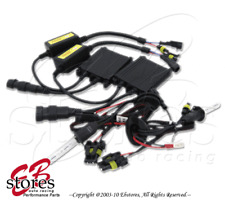 1 Set 12000K Purple 12V 35W H10 Foglight Slim Xenon HID Conversion Kit