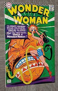 Wonder Woman #166 VF DC Comics 1966 Cheetah Higher Grade Silver Age