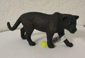 Schleich   -      Schwarzer Panther  ( Mit Fähnchen )