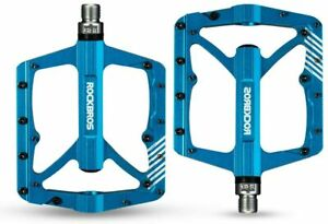 ROCKBROS MTB Bike Pedals Cycling Ultralight Aluminium Alloy 4 Bearings MTB Pedal