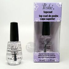 Poshe Super Fast Drying Shine And gloss Top Coat 0.5 oz