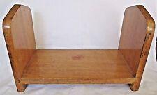 Heavy oak vintage tabletop book holder